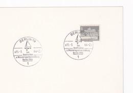Germany 1964 Card: Sailing , Segeln; Voile; Vela; BootsschauWassersport Ausstellung Berlin Cancellation - Sailing