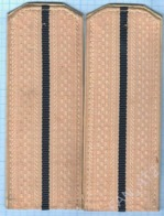 USSR / Soviet Union / RUSSIA . Shoulder Boards Shoulder Straps. Epaulettes Navy. Naval And Naval Composition 1969 - Uniformes