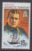 British Antarctic Territory 1981 15p  Ernest Shackleton /  Endurance  Perf 12 ** Mnh (44956J) - Brits Antarctisch Territorium  (BAT)