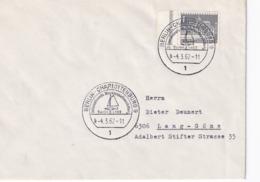 Germany 1962 Cover: Sailing , Segeln; Voile; Vela; Berlin Charlotenburg Internationale Waser Sport Ausstellung - Sailing