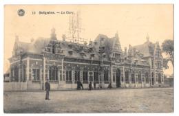 Soignies 15 La Gare Hermand Bon état - Soignies