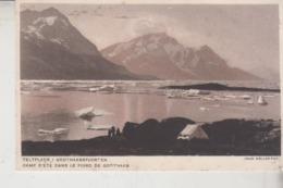 GROENLANDIA  GROENLAND  TELTPLADS I GODTHAABSFJORDEN - Groenlandia