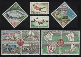 Monaco Cent Of English Football Association 12v MH SG#774-785 MI#744-755 SC#553-64 - Monaco