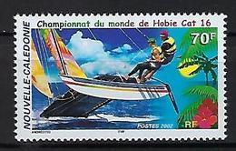"""Nle-Caledonie YT 867 """" Hobbie-Cat 16 """" 2002 Neuf** - Neufs"""