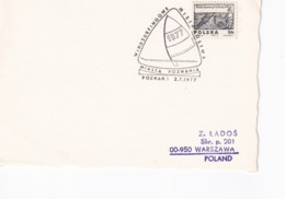 Poland 1977 Card: Sailing , Segeln; Voile; Vela; Windsurfing Championship Poznan - Sailing