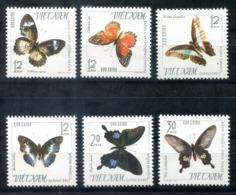 5183 - VIETNAM - Mi. 405-410 ** - SCHMETTERLINGE / BUTTERFLIES - Vietnam