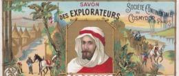 Etiquette Savon Des Explorateurs Société Continentale Du Cosmydor Paris / TRES BELLE - Labels