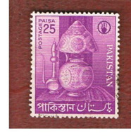 PAKISTAN  -  SG 165  -  1962 SMALL INDUSTRIES: LAMP   -  USED ° - Pakistan