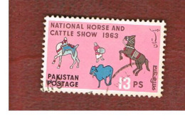 PAKISTAN  -  SG 183 -  1963  NATIONAL HORSE &  CATTLE SHOW  -  USED ° - Pakistan