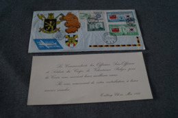 Guerre De Corée,volontaires Belges,envoi En Belgique 1953,superbe Timbres Et Oblitérations,moilitaria - Corea Del Sur