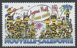 "Nle-Caledonie YT 882 "" Joyeux Noël "" 2002 Neuf** - Unused Stamps"
