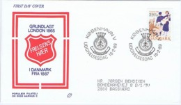 Denmark 1989;  Charity For The Benefit Of The Salvation Army, FDC. - FDC