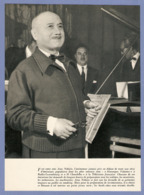 COUPURE De PRESSE 1955 - 18,5 X 25 Cm - PRÉSENTATEUR TÉLÉ JEAN NOHAIN 36 CHANDELLES SOUCOUPES VOLANTES RADIO LUXEMBOURG - Sonstige Formate