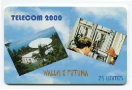 Telecarte Wallis-Futuna °_ 14A-Telecom 2000-Sc7-3 N° Rouges-954-1.000 Ex- R/V - Wallis En Futuna