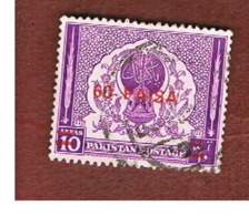 PAKISTAN  -  SG 264 -  1968  STAMP OF 1951 OVERPRINTED 60 PAISA RED -  USED ° - Pakistan