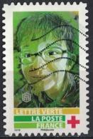 France 2019 Oblitéré Used Street Art Visages Par Christian Guémy Alias C215 Timbre N° 3 Y&T 1725 - Oblitérés