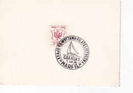 Poland 1974 Card: Sailing , Segeln; Voile; Vela; Marfil Gdansk Cancellation - Sailing