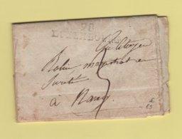 Luxembourg - 98 - Courrier De L'an 11 Pour Nancy - Departement Des Forets - Marcophilie (Lettres)