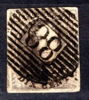 6 Oblitération P88 Ninove  -  Cote 20,00 € - 1851-1857 Medallions (6/8)