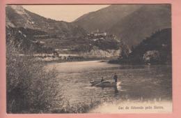 OUDE POSTKAART ZWITSERLAND - SUISSE -  LAC DE GERONDE - SIERRE - VS Valais