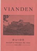 Vianden Guide 1932, 16 Pages. - Livres, BD, Revues