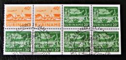 POSTE AERIENNE 1965 - TIMBRES DU CARNET - OBLITERATION SPECIALE 11/01/1978 - YT PA 30 + 34 - Surinam