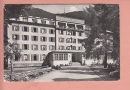 OUDE POSTKAART ZWITSERLAND - SUISSE -      ZERMATT HOTEL  ZERMATTERHOF - VS Wallis