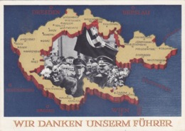 MIL844  --  WIR DANKEN UNSERM FUHRER - Weltkrieg 1939-45