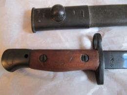 Baionette 1907 Raccourcie Etat Neuf - Armes Blanches