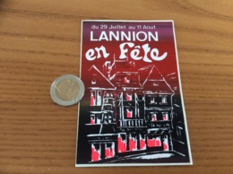AUTOCOLLANT, Sticker «LANNION En Fête (22)» - Aufkleber