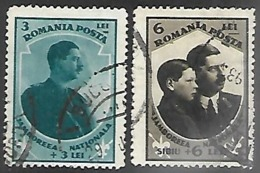 Romania   1932    Sc#B35-6   Scouting High Values  Used  2016 Scott Value $20.50 - Scoutisme