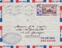 MADAGASCAR - TANANARIVE - PROVENANCE DU SERVICE METEOROLOGIQUE DE L'ILE DE TROMELIN A 436km DE MADAGASCAR - Madagascar (1889-1960)