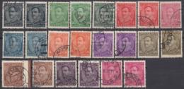 JUGOSLAVIA - 1931/1933 - Lotto Composto Da 24 Valori Usati: Yvert 210/221; Tutti I Valori A E B. - Gebraucht