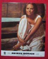 9 Photos Du Film Avril Rouge (1973) – Claudia Cardinale - Albums & Collections