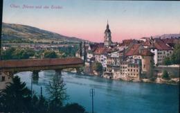 Olten SO, Alte Brücke, Pont Couvert En Bois (10.8.24) - SO Solothurn