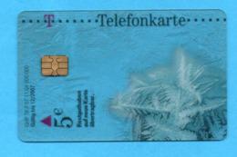 GERMANY Transparent Phonecard - P & PD-Reeksen : Loket Van D. Telekom