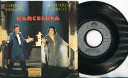 Freddie Mercury / Montserrat Caballe - 45t Vinyle - Barcelona - New Age