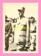 PHOTO DU GENERAL DEGAULLE - Oorlog, Militair