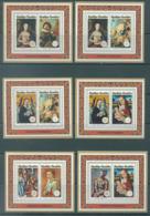REPUBLIQUE RWANDAISE - 1974 - MNH/** -  STOCKHOLMIA UPU  - COB BLOC 36-41 Yv BLOC 37-42 - Lot 20425 - Rwanda