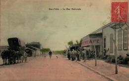 Algérie - BOU-TLELIS - La Rue Nationale - Other Cities