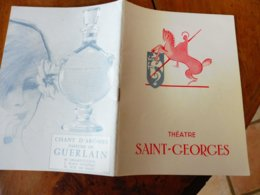 1964 Théâtre SAINT-GEORGES :Jacqueline Maillan,Henri Virlojeux;Le Succès Au Théâtre, Par Louis Jouvet;Pierre Fresnay;etc - Autres