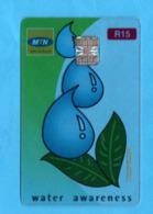 SOUTH  AFRICA Transparent Phonecard - Südafrika