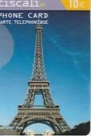 TISCALI     TOUR EIFFEL 2007  2 Scans - France