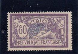 France - Année 1907 - Y.T.N°144** - Type Merson - Violet Et Bleu - 1900-27 Merson