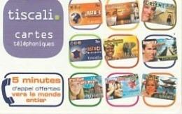 TISCALI  9 Visuels 2007 - France