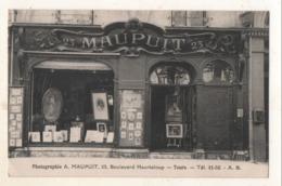 Photographe A MAUPUIT  23 Boulevard Heurteloup  Tours - Tours