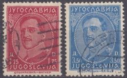 JUGOSLAVIA - 1934 - Serie Completa Formata Da 2 Valori Usati: Yvert 261/262. - Gebraucht