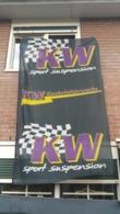 Vlag 140. X 265.0 - K.W Gewindevaarwerke - Sport Suspension - Car Racing - F1