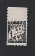 Faux Taxe N° 22 1 F Duval Gomme Sans Charnière - 1859-1955 Mint/hinged