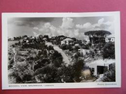 LEBANON  ( LIBAN )  Général View - BRUMMANA - Lebanon